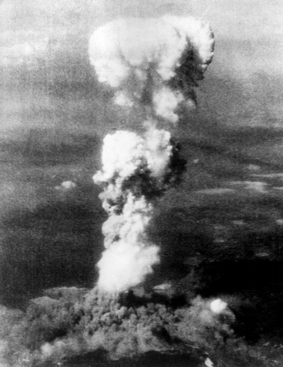 Az atomfelhő a város felett
