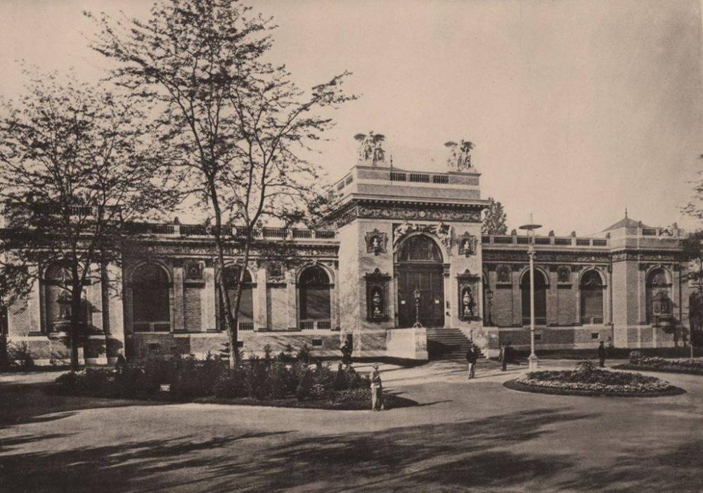 Az épület eredeti állapota