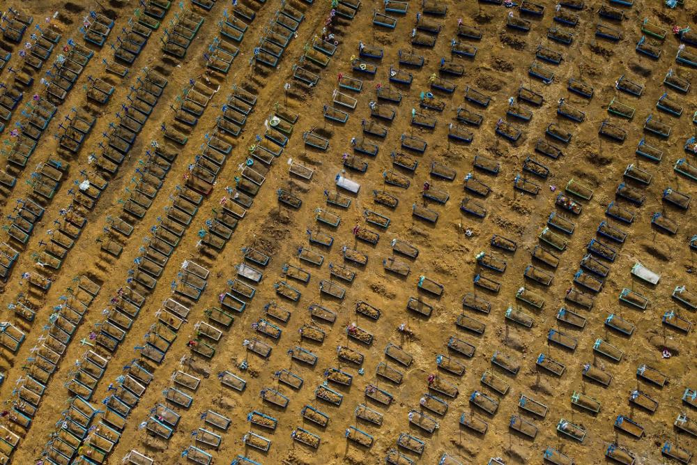 Sírok egy brazil COVID-parcellában