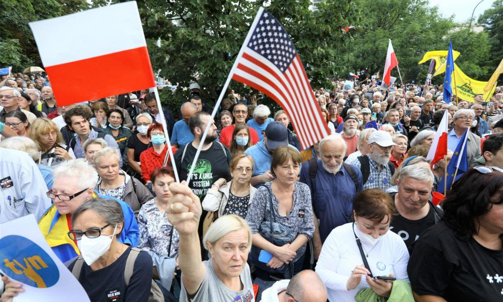 Lengyel-amerikai konfliktushoz vezetett a lex TVN