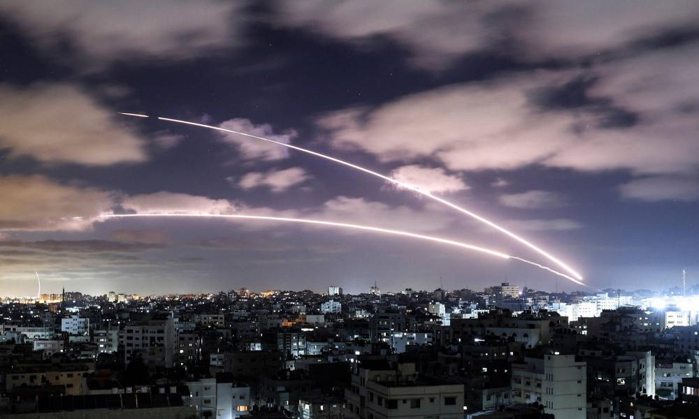 Rakéták zuhantak Izraelre
