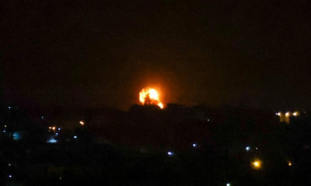 Izrael megtorló légicsapásokat hajtott végre a Gázában