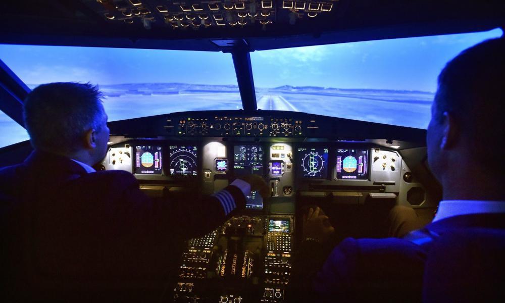 e5b054954946 Ilyen belülről a Wizz Air új pilótafülke-szimulátora - Fotó