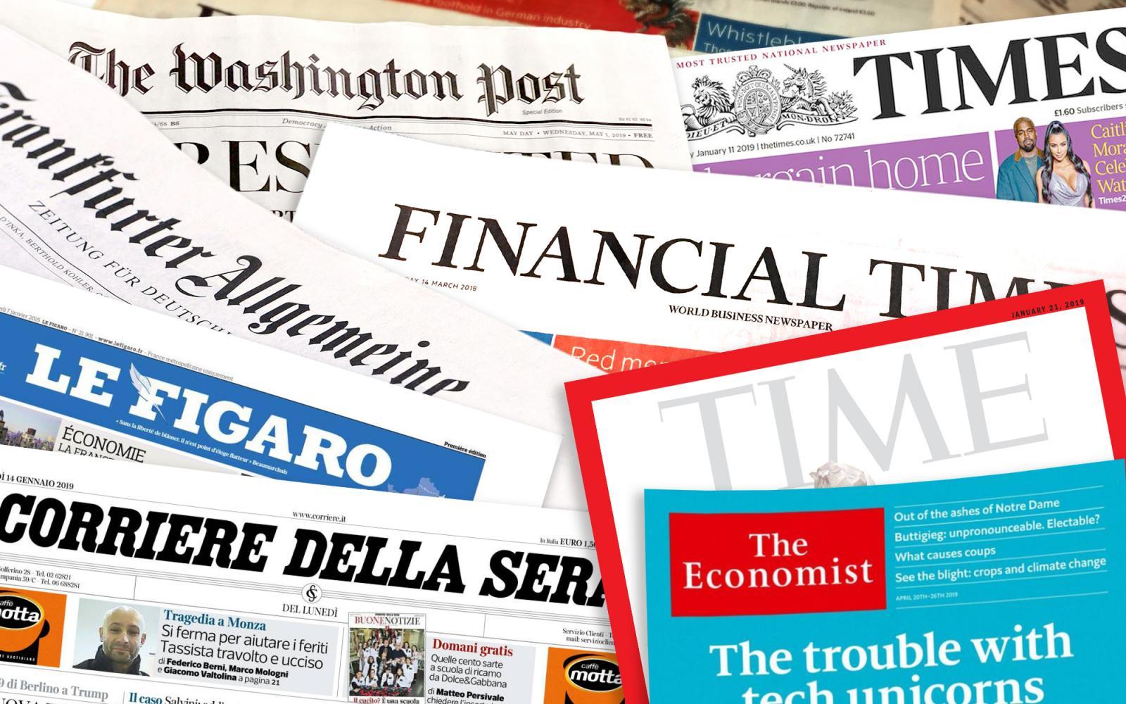 arra törekszik, hogy a szabad sajtó