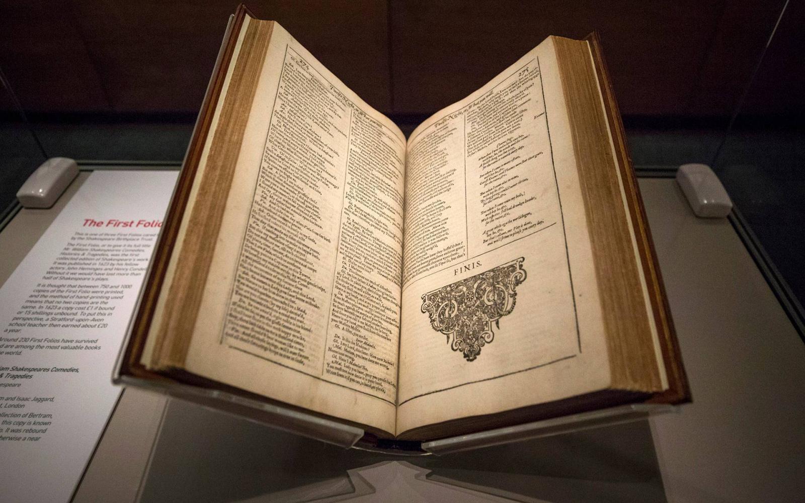 Népszava | Hárommilliárd forintért kelt el egy Shakespeare-kötet