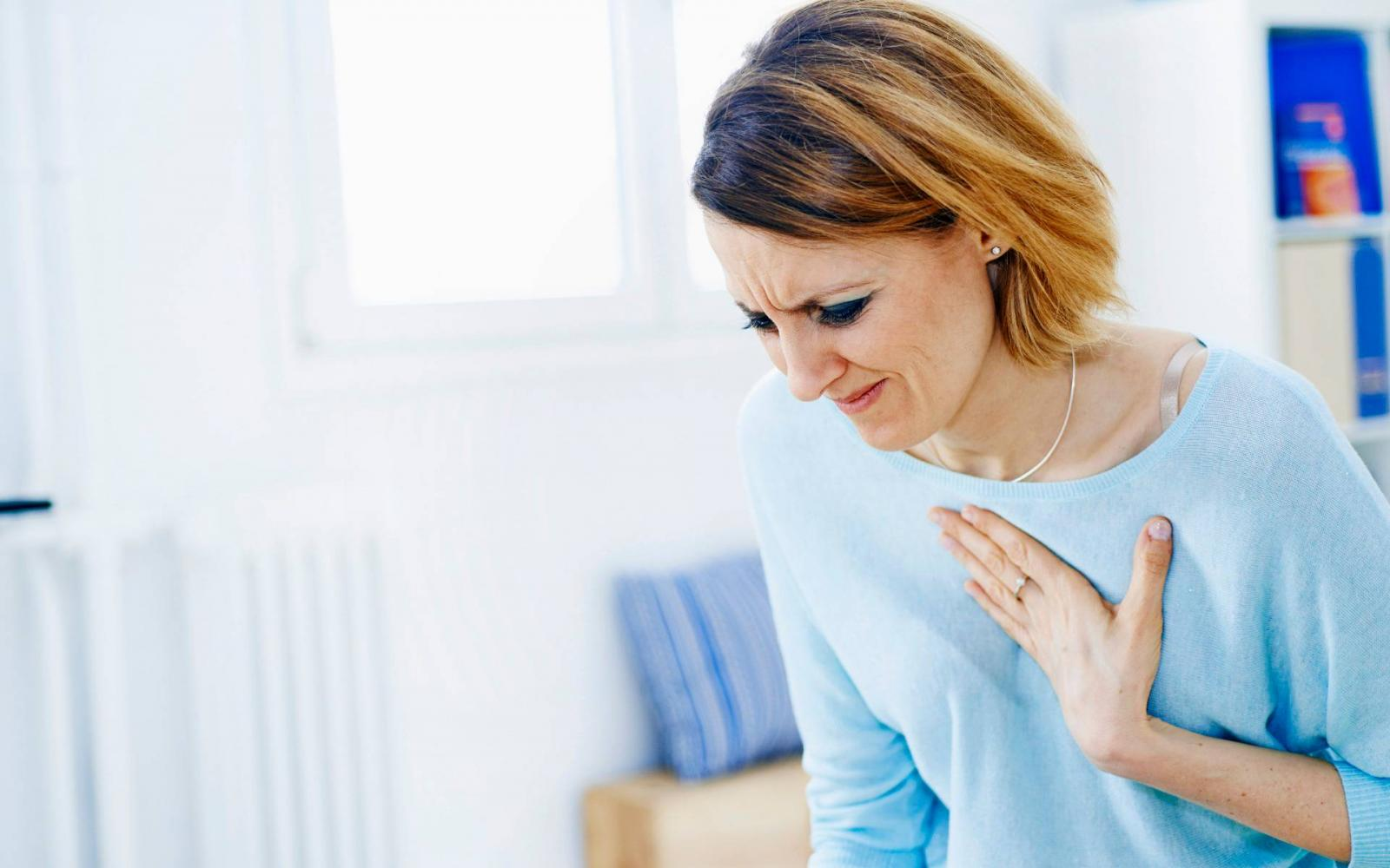 Szorongás is okozhat mellkasi fájdalmat