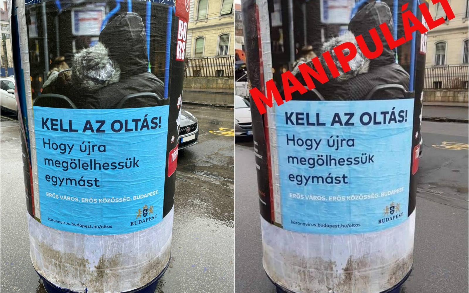 Jogi lépések  Főváros plakátjainak meghamisítása miatt Karácsony