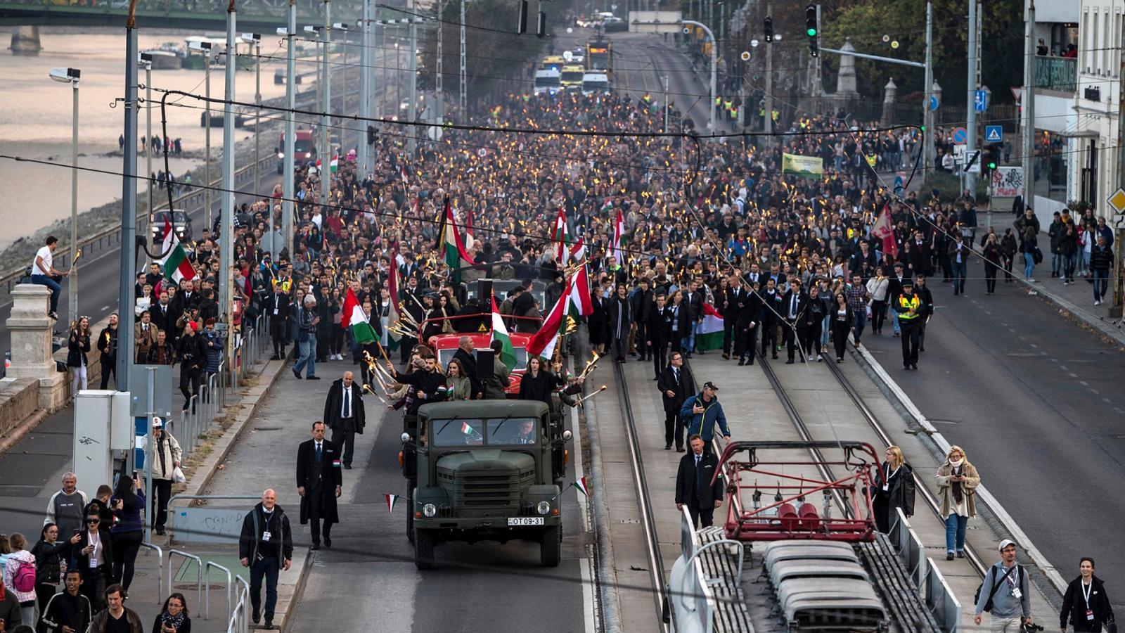 549a7db412c5 Népszava Itt tüntethet a régi és új kommunisták ellen Budapesten