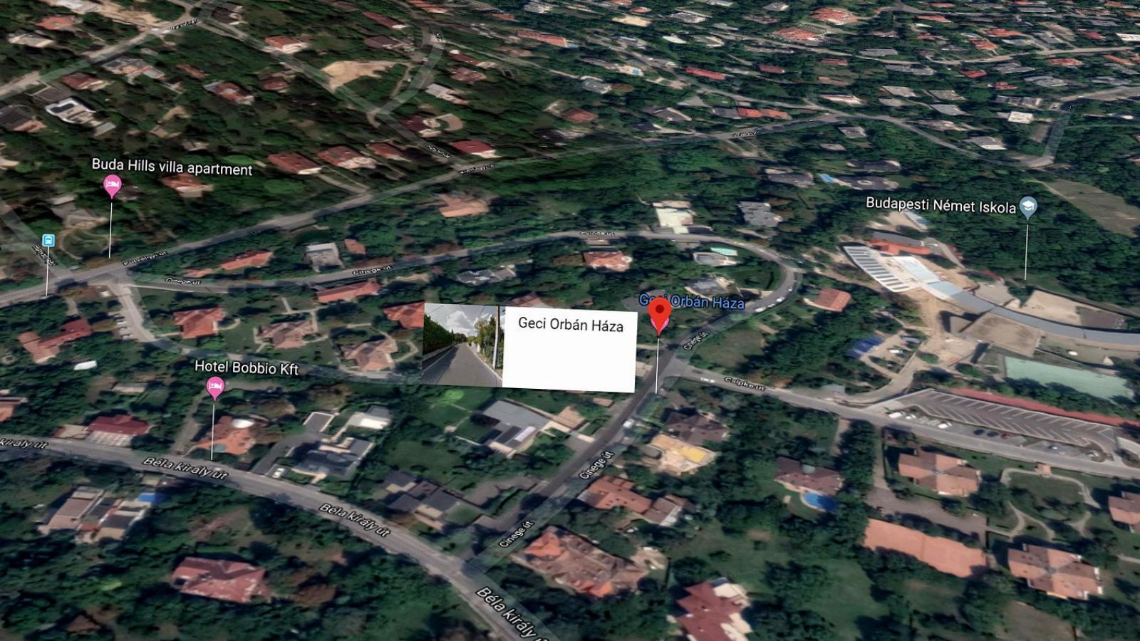 00523434da Népszava Így jelölte a Google térképe Orbán Viktor házát