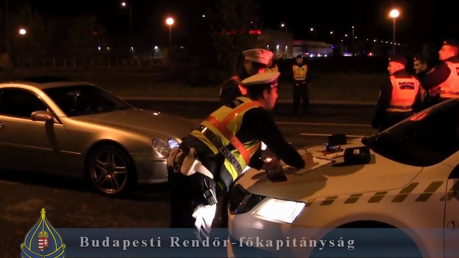 Gyorsulási verseny ellen léptek fel a rendőrök
