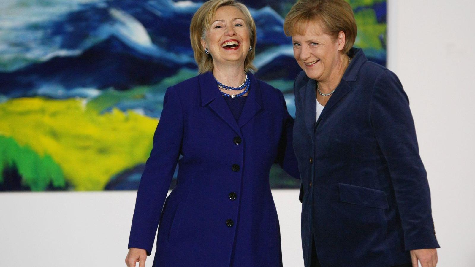 8db6c3d0d0 A novemberi elnökválasztás után ők ketten lehetnek a világ legbefolyásosabb  asszonyai FOTÓ: EUROPRESS/GETTY IMAGES