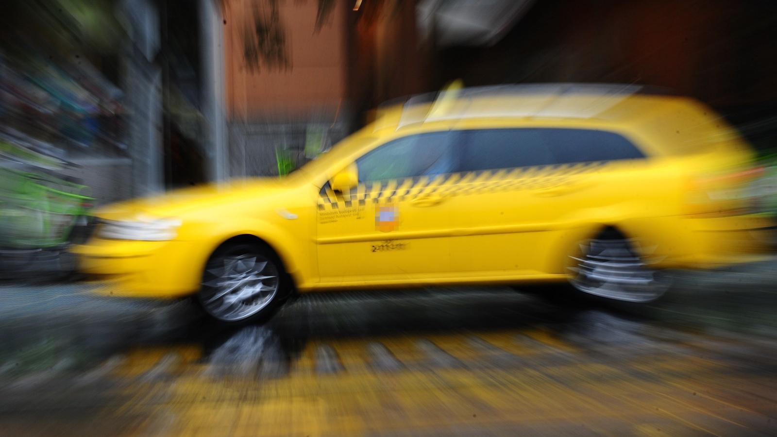 taxi szex videók