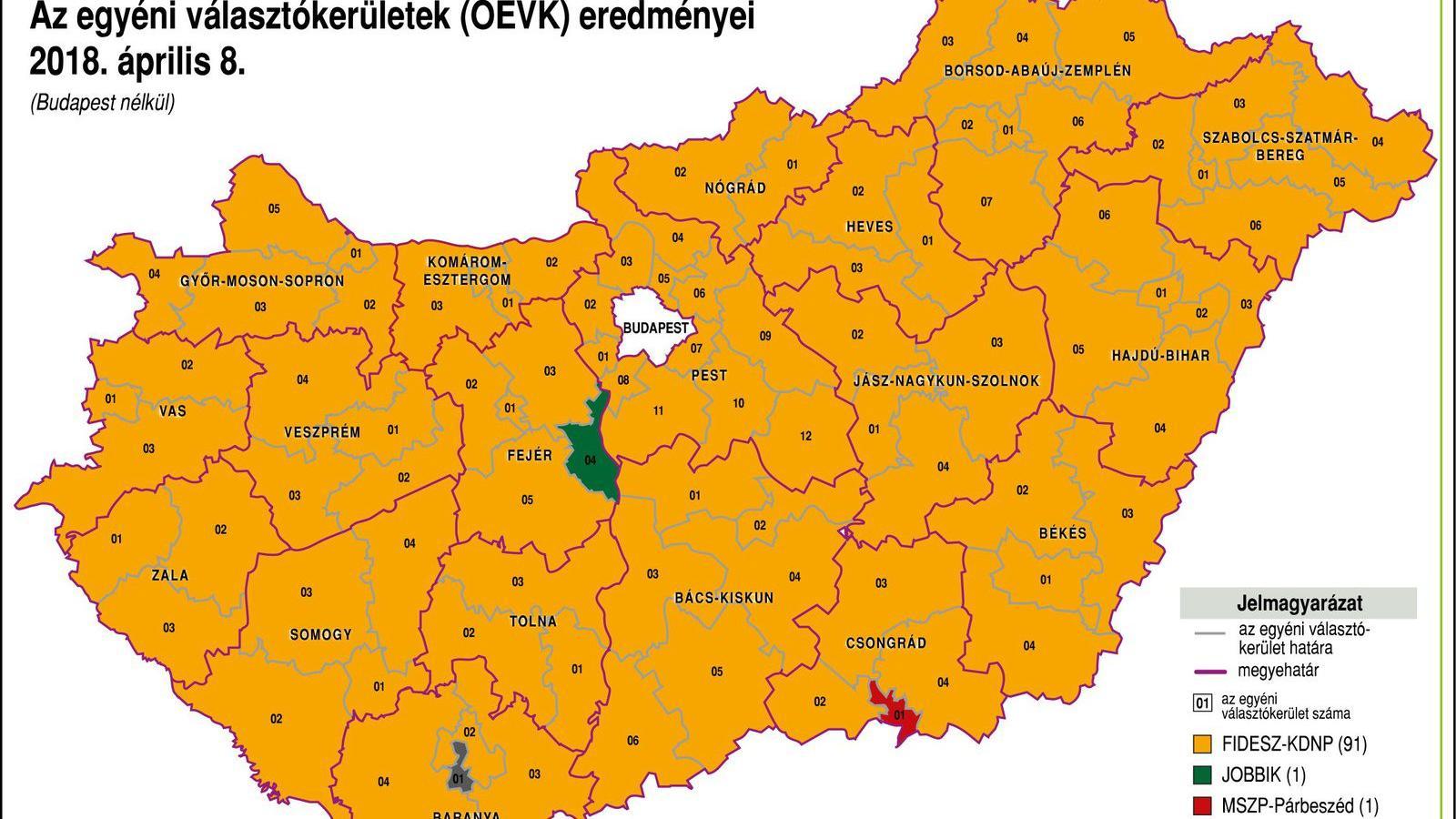 térkép magyarország Népszava Ezt főztük, ezt esszük   Magyarország térkép 2018