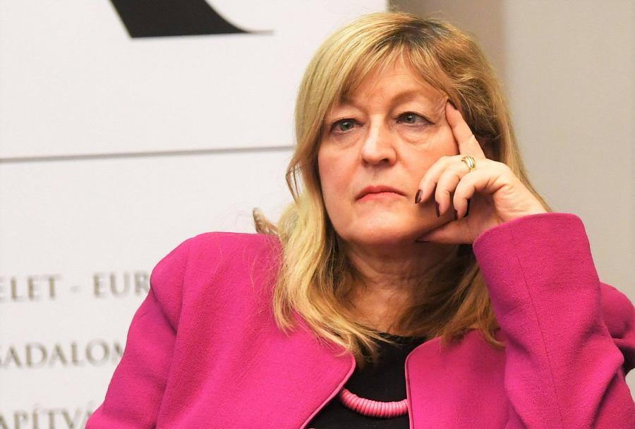 Schmidt Mária szerint Márki-Zay Péter párt nélkül csak diktátor lehet