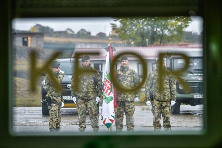 Magyar parancsnok a Kosovo Force élén