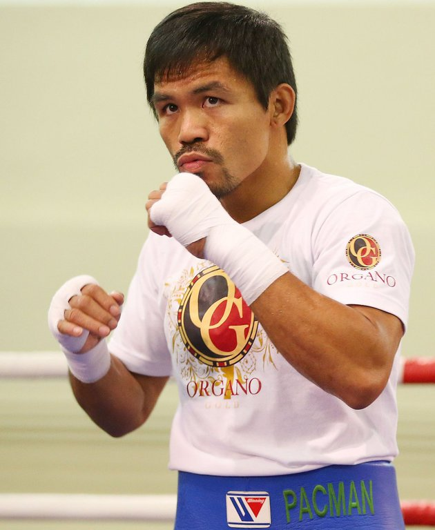 Manny Pacquiao FOTÓ: EUROPRESS/GETTY IMAGES