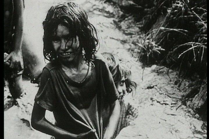 Felszabadulás után a lágerben FOTÓ: NÉPSZAVA